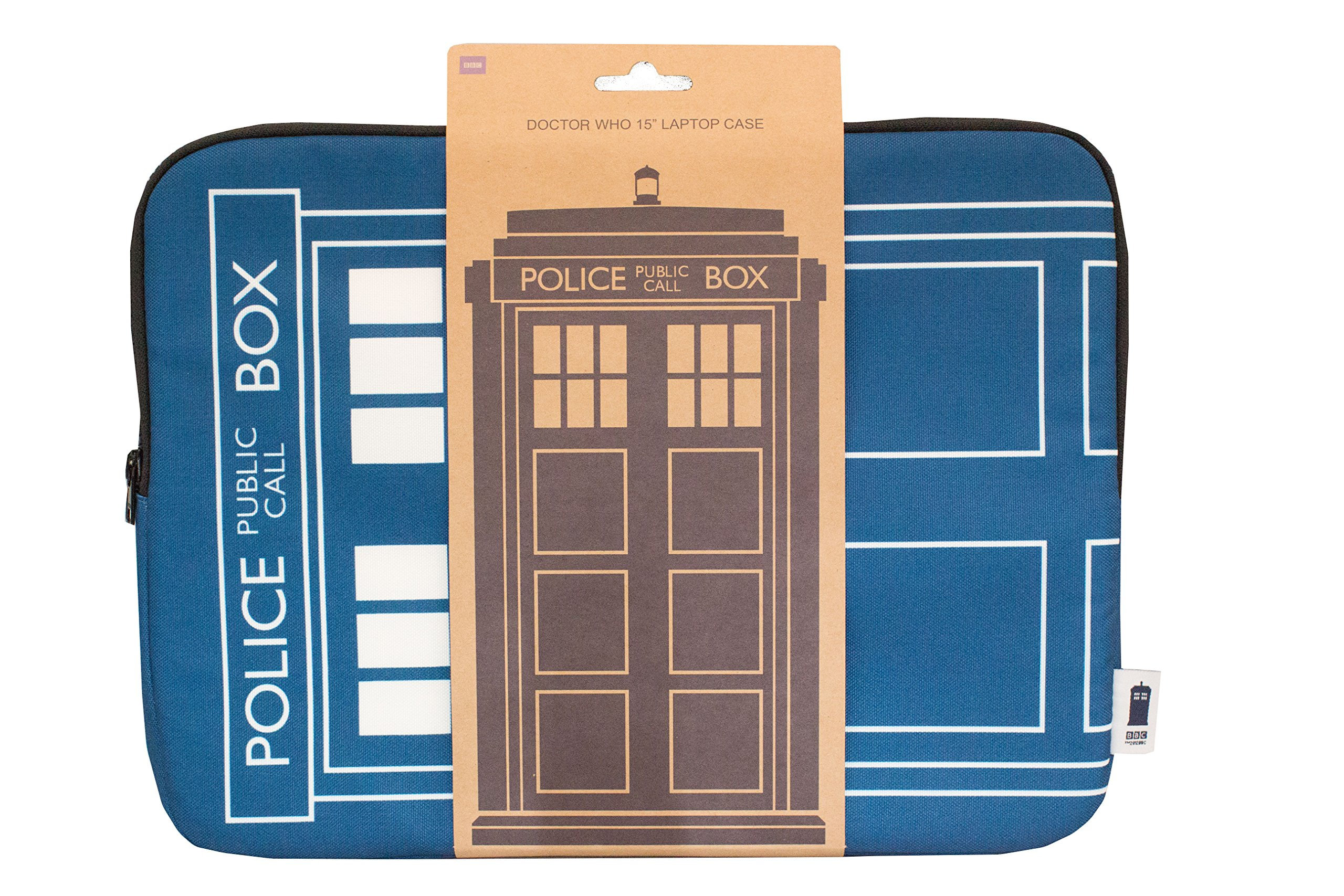 Doctor Who Homeware Tardis Laptop Case 15'' Blue (Dispatched From UK)