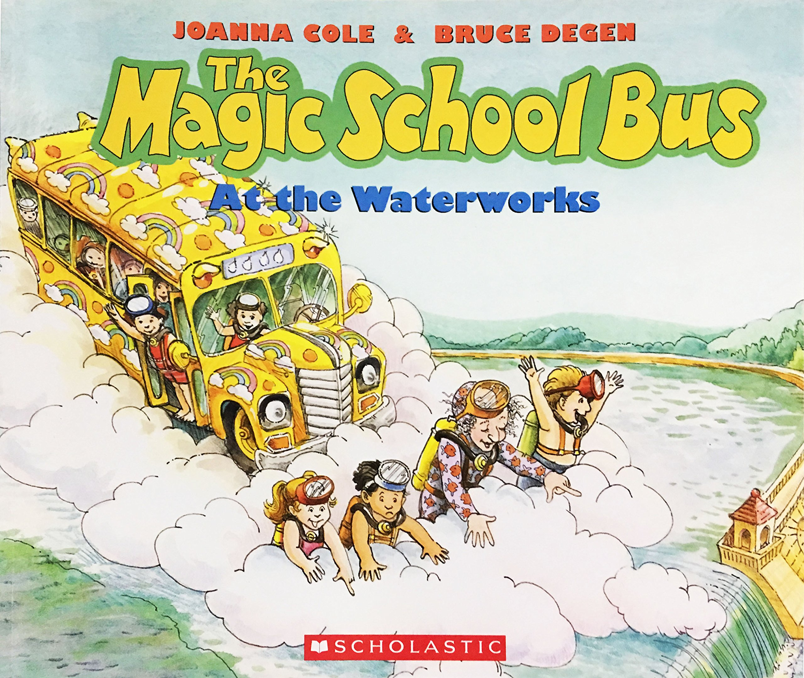 amazon the magic school bus at the waterworks joanna cole bruce