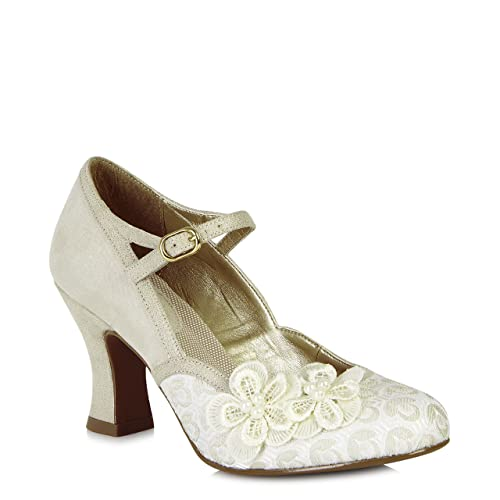 f2523bfe Ruby Shoo Amelia (Cream) Size 5/38: Amazon.co.uk: Shoes & Bags