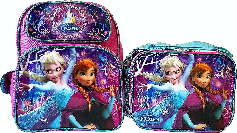 Ruz アナと雪の女王 12インチ バックパックとランチボックスセット - S