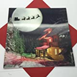 3D Holographic Me to You Bear Christmas Card, Moonlight Scene