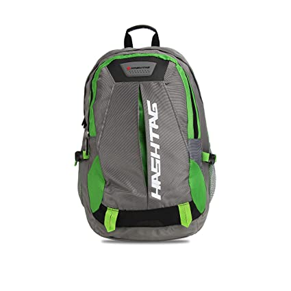 375f86213c Hashtag Ninja Polyester Gray Backpack - School Bag   College Bag   Travel  Bag   Backpack: Amazon.in: Bags, Wallets & Luggage