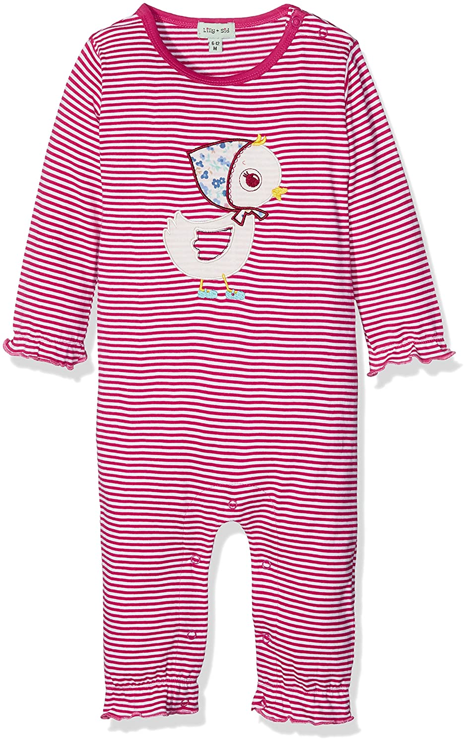 Lilly and Sid Baby-Mädchen Spieler Applique Duck Playsuit Lilly & Sid
