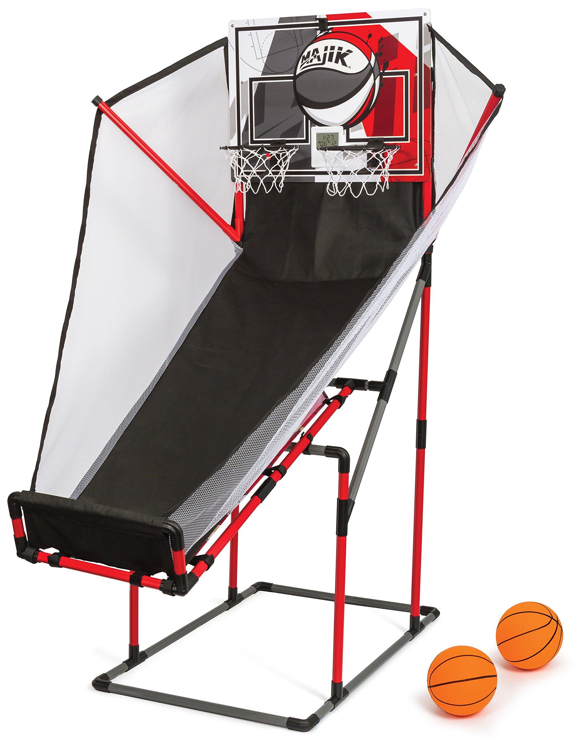 Majik Arcade 3-In-1 Sport Center for Basketball, Baseball, and Football by Majik
