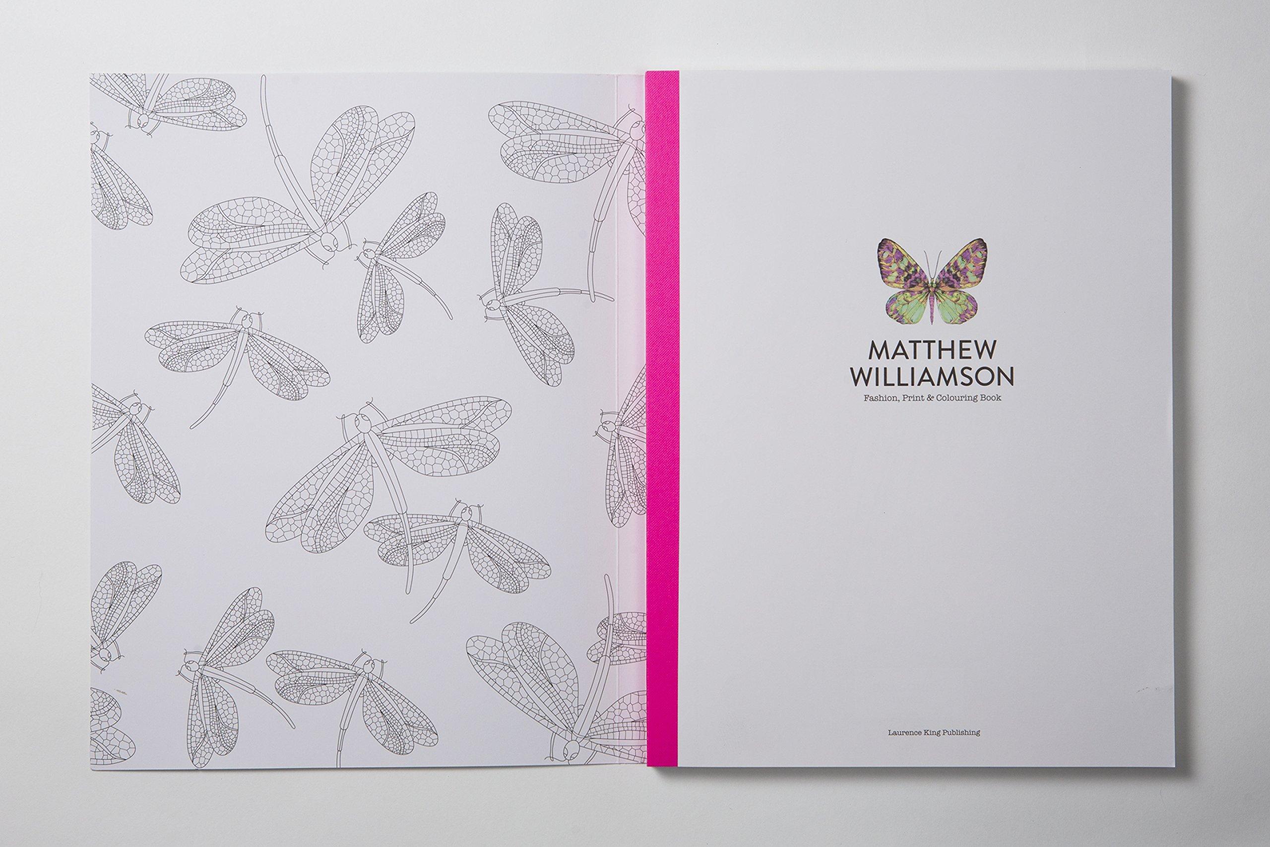 Amazon Matthew Williamson Fashion Print And Colouring 9781780678979 Books