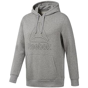 Reebok Big Logo Hoodie Sudadera, Hombre: Amazon.es: Deportes y aire libre