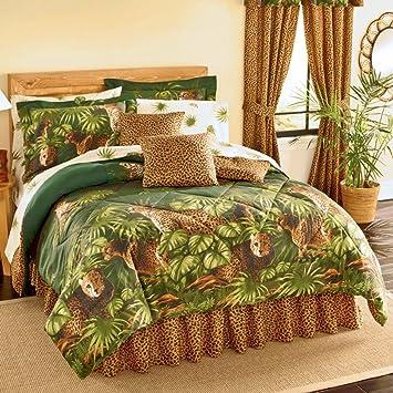 3D Printed Look Wild Animal Duvet Cover Sets Bed Sheets Jungle Zoo Dog Big Cats