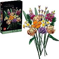 LEGO 10280 Creator Expert Botanical Ramo de Flores, Set de Construcción Manualidades para Adultos, Colección Botánica