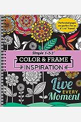 Color & Frame Coloring Book - Inspiration Spiral-bound