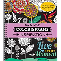 Color & Frame Coloring Book - Inspiration
