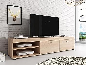 Mobel Eiche Sonoma ~ Tv möbel konsole tisch schrank elsa cm licht eiche sonoma
