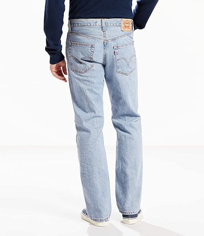 Levis Mens Big and Tall Classic Fit Easy Khaki Pants-Pleated