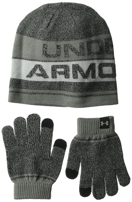 Under Armour Boys Beanie Glove Combo 2.0