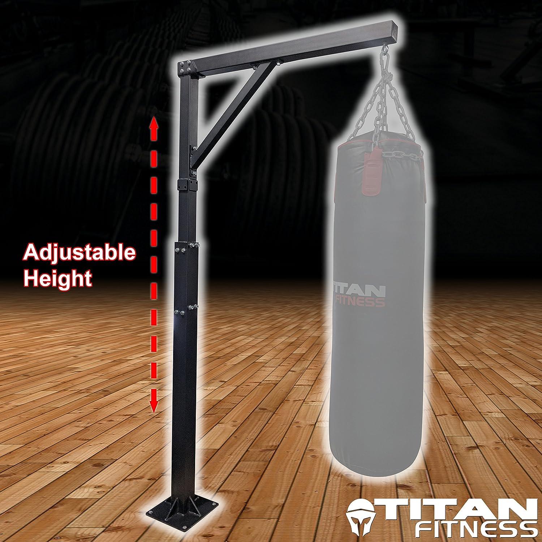 Titan Adjustable Heavy Bag Boxing StandBolt Down