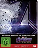 Avengers - Endgame: Blu-ray 3D + 2D / Steelbook