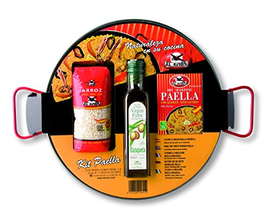 El Avion Paella Kit Pan Todos los Ingredientes Naturales de ...