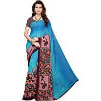 Anni Designer Georgette Saree with Blouse Piece (Jemini_Free Size)