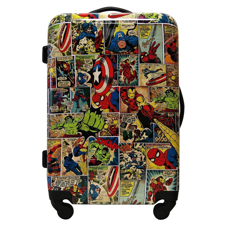 ミディアムスーツケース - サイズ66 cm - AVENGERS - 飛散防止軽量4輪 - 印刷されたコミック B0765VT624