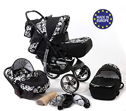 Baby Sportive - Sistema de viaje 3 en 1, silla de paseo, carrito con
