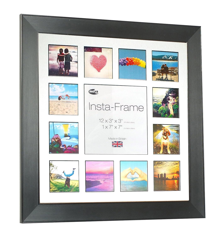 Amazon.de: Inov8 16 x 16 Insta-Rahmen Fotorahmen, für 13 Fotos ...