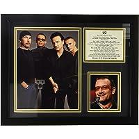 "Legends Never Die "" U2 Pulgada Foto enmarcada Collage, 27,94 cm x 35,56 cm"