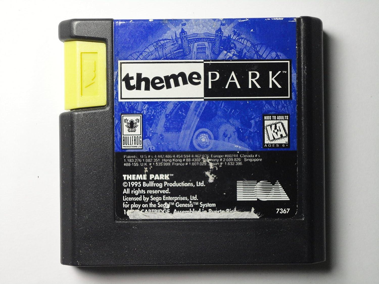 Theme Park - Sega Genesis