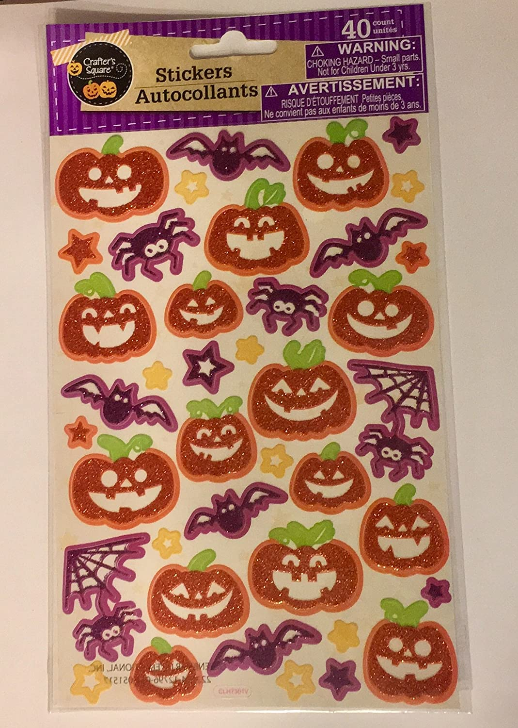 17pc And Halloween Stickers Greenbrier Made For Retail And Pumpkin Skulls Bats Stars Halloween Booooo Window Clings With Letters