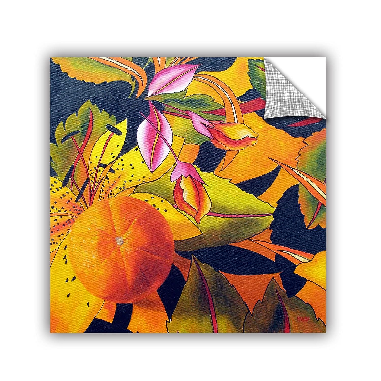 ArtWall Marina Petros Love That Orange Art Appeelz Removable Wall Art Graphic 36 by 36