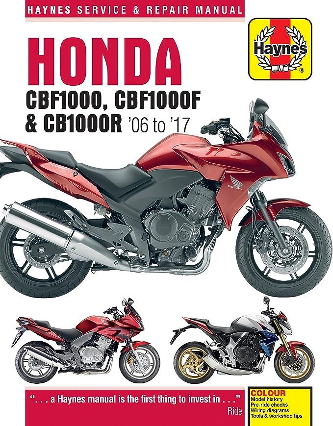 honda cb 1000 cb1000r repair manual haynes service manual workshop manual  2008-2011: amazon co uk: car & motorbike