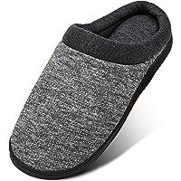 Mishansha Mujer Zapatillas de Casa para Hombre Comodos Pantuflas Memory Foam Invierno