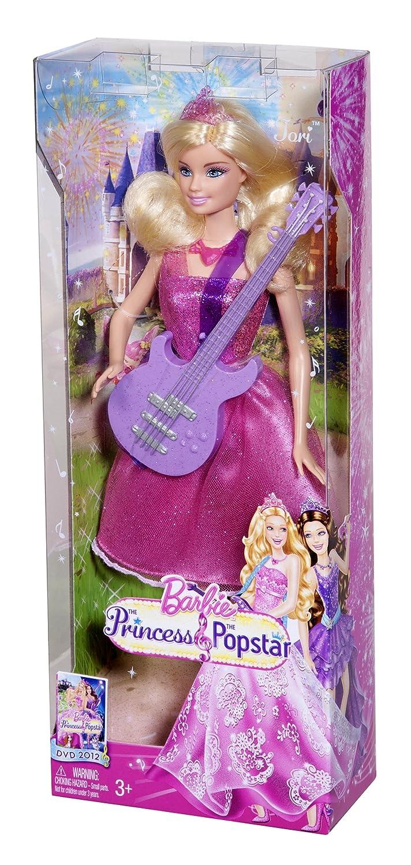 Amazon.es: Barbie Mattel X5127 The Princess and the Popstar - Muñeca ...