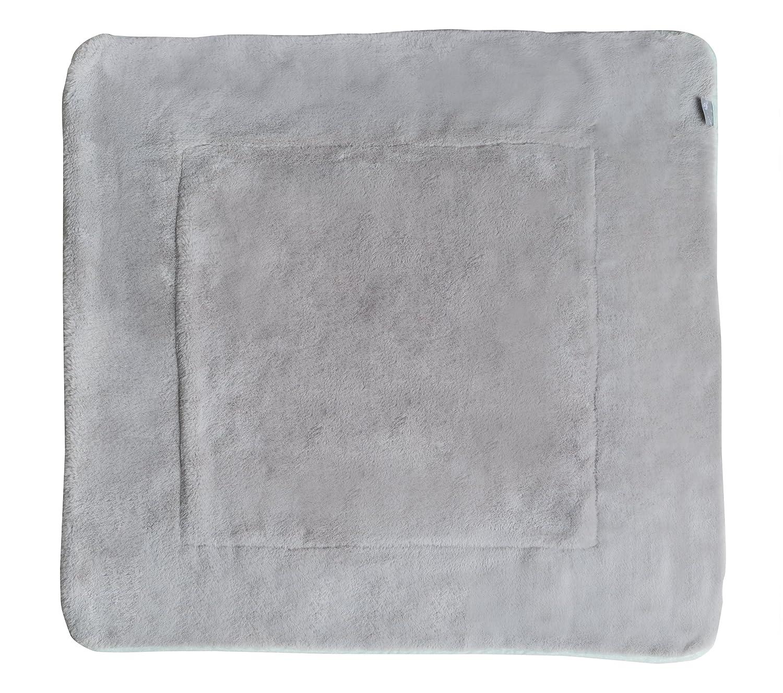 2 Funktionen: 1 x super weich Decke zum Kuscheln 2 seitig roba Babydecke Adam /& Eule mehrfarbig Krabbeln /& Spielen warm /& flauschig