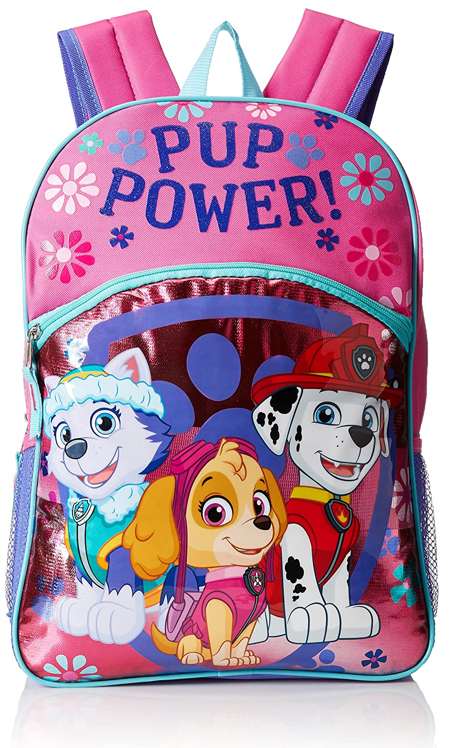 Paw Patrol Little Girls Pup Power 16 Backpack Pink 16
