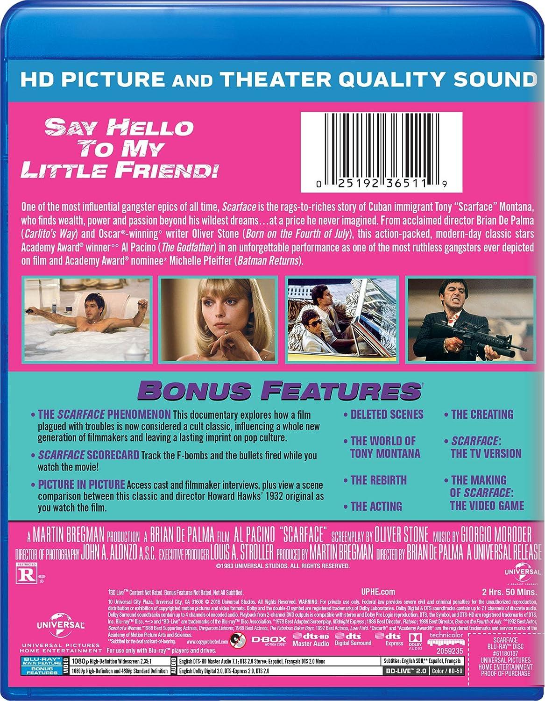 Scarface 1983 Edizione: Stati Uniti Italia Blu-ray: Amazon.es ...
