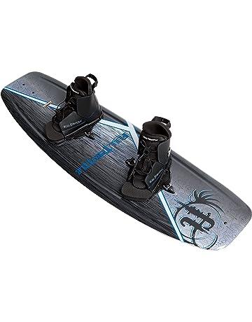Full Throttle Aqua Extreme Wakeboard Kit (Black/Blue, 55.1 x 21.6-Inch