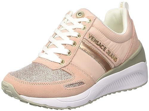 Versace Jeans Ee0vrbsb2_e70022, Zapatillas para Mujer: Amazon.es: Zapatos y complementos