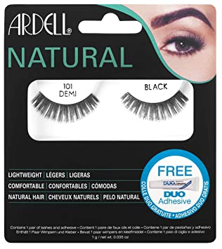 5a34758c086 Ardell Natural Lashes 101 Black Demi, 1-Count: Amazon.ca: Beauty
