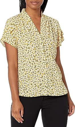 Calvin Klein Women's Flutter SLV TOP