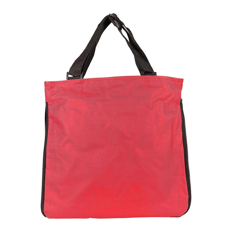 Tote NuFazes 15-3//4 x 15-1//2 Zippered Expandable Fashionable Shopping Bag