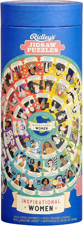 Amazon.com: Ridley's Inspirational Women Feminist Circular 1000 ...