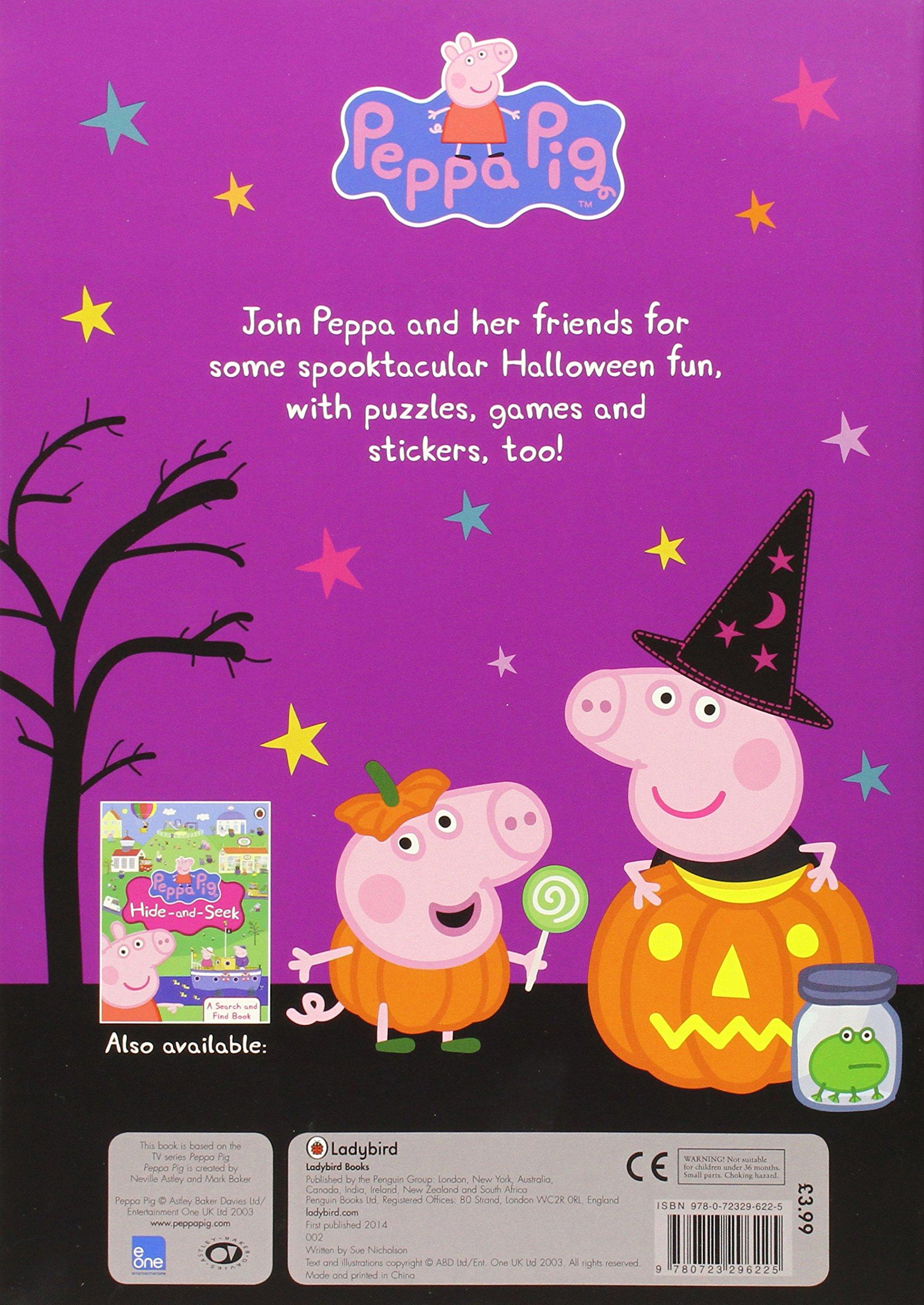 Peppa Pig: Peppa's Halloween Sticker Activity Book: Amazon.co.uk ...