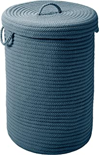 """product image for Simply Home Hamper w/lid - Lake Blue 18""""x18""""x30"""""""