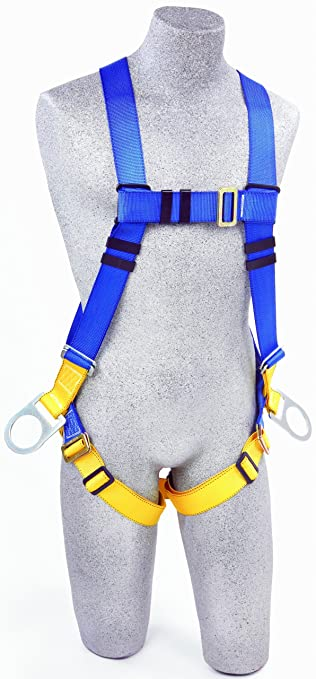 911sac4O2BL._SY679_ 3m protecta first ab17540 fall protection 5 point adjustment full fall protection harness at gsmx.co