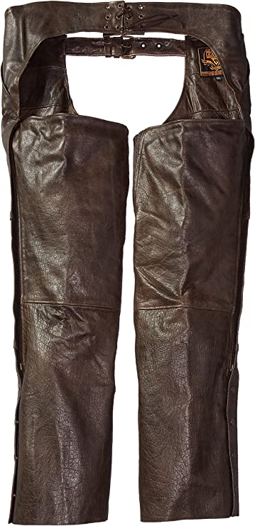 Milwaukee Mens Retro Four Pocket Thermal Lined Chaps Brown, XX-Large