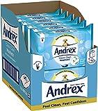 Andrex Moist Fresh Washlets Tub 42 Sheets Pack Of 6