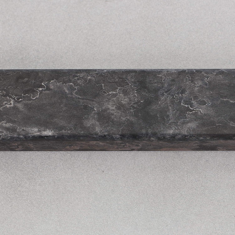 1 bombilla E27 m/áx Elegante l/ámpara de pie con arco de 1,9 x 1,2 m 60 W de hormig/ón//metal//tela en marr/ón//gris.