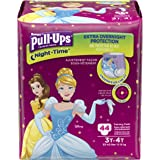 Pull-Ups Night-Time Training Pants for Girls, 3T-4T, 44 Count (Pack of 2) (Packaging May Vary)