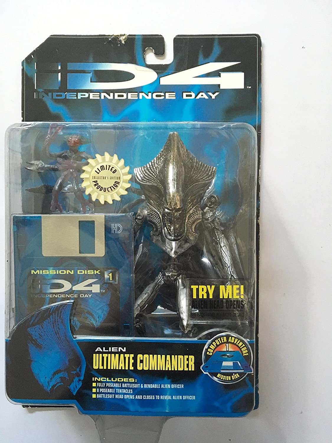 ID4 Independence Day Alien Ultimate Commander TRENDMASTERS