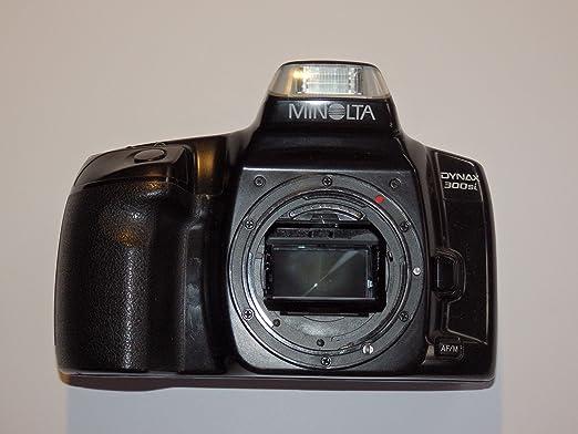 Minolta Dynax 300SI – SLR Camera – Cámara réflex analógica – Solo ...