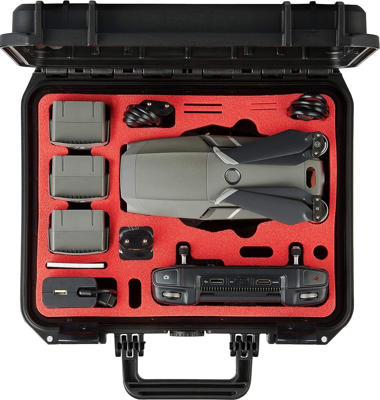 4x Batterie Hard Case for DJI Mavic Pro 2//DJI Mavic 2 Zoom Smart Controller 2